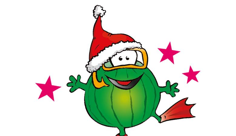 Burozeiten Weihnachten Wassermeloni